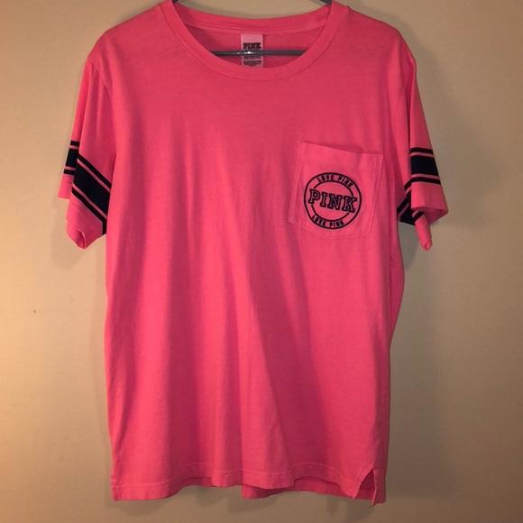 VICTORIA/'S SECRET T Shirt BNWT Size M White Gold Hot